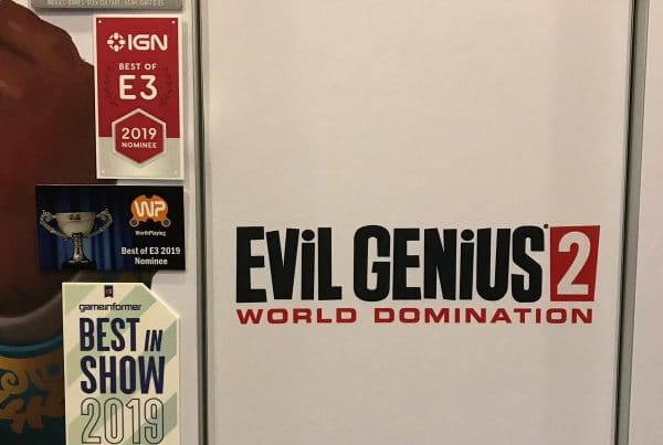 Evil Genius E3 Awards