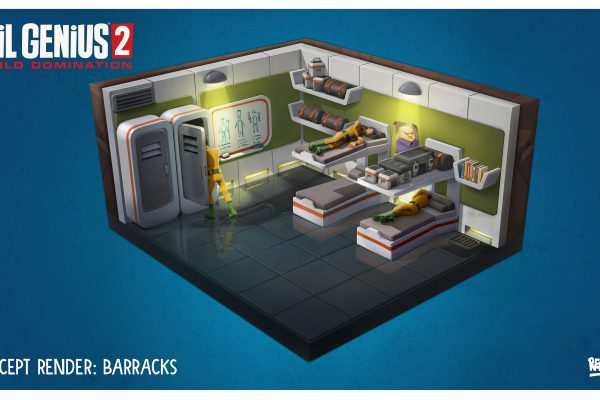 EG2 Barracks Room Concept Art