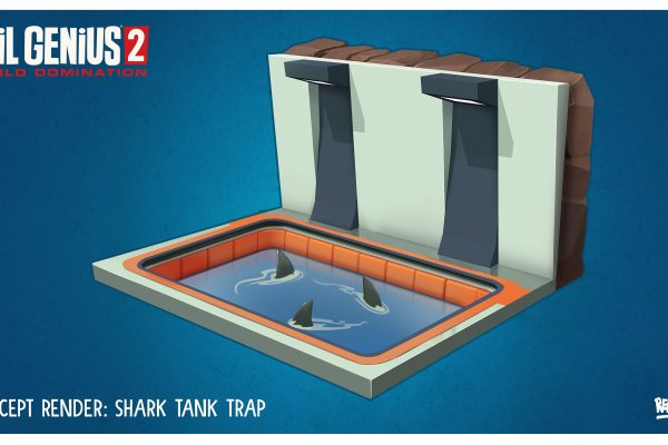 EG2 Trap Shark Tank Concept Art