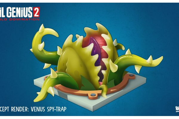 EG2 Trap Venus Spy Trap Concept Art