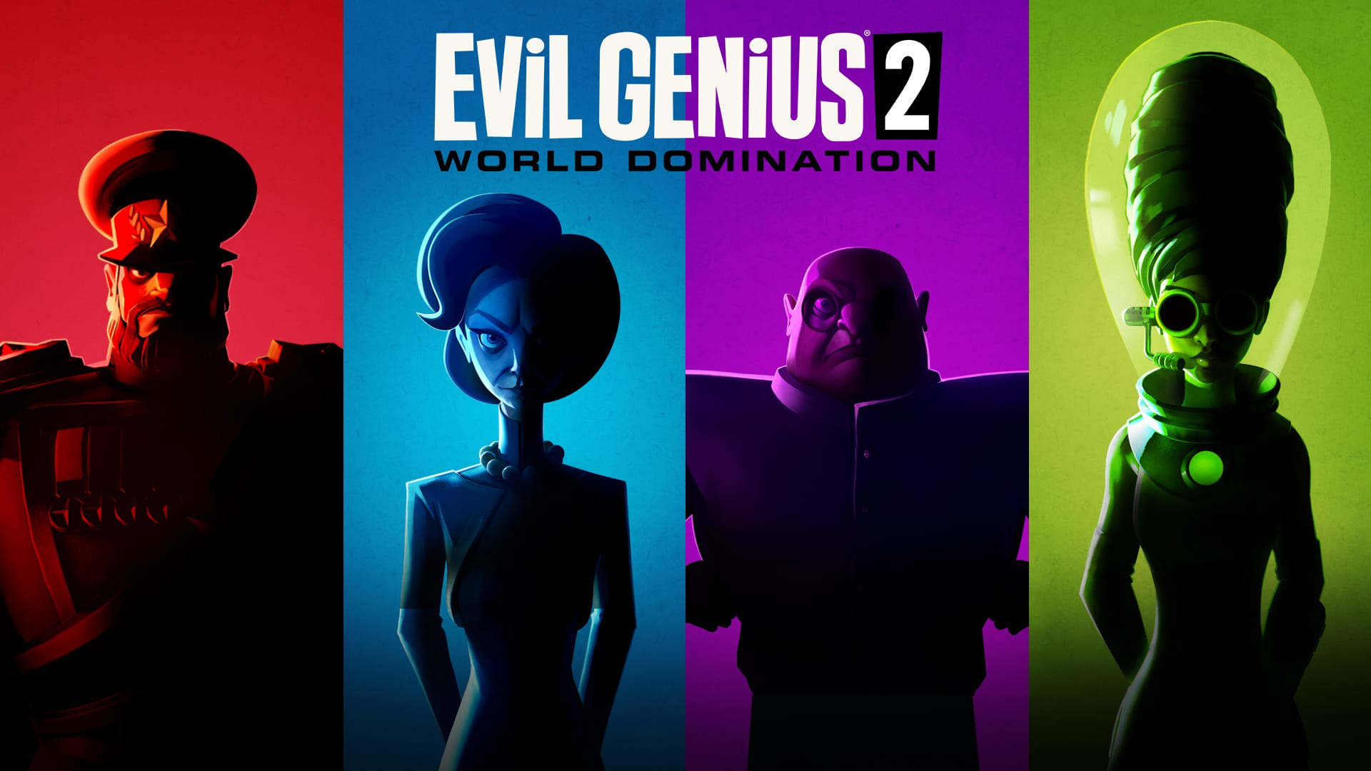 EViL GENiUS 2 - All Characters