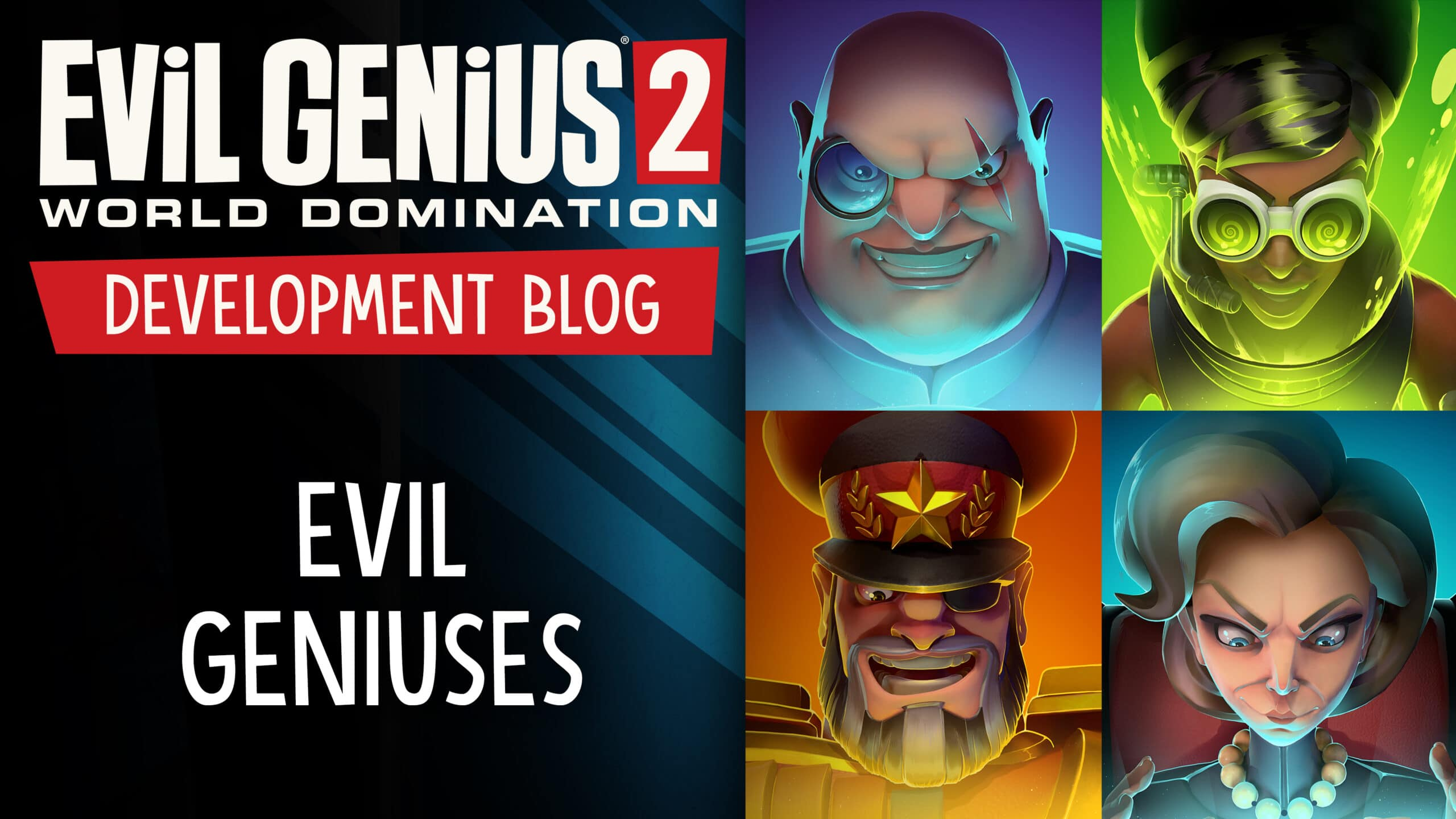 Evil Genius 2 Supervillains