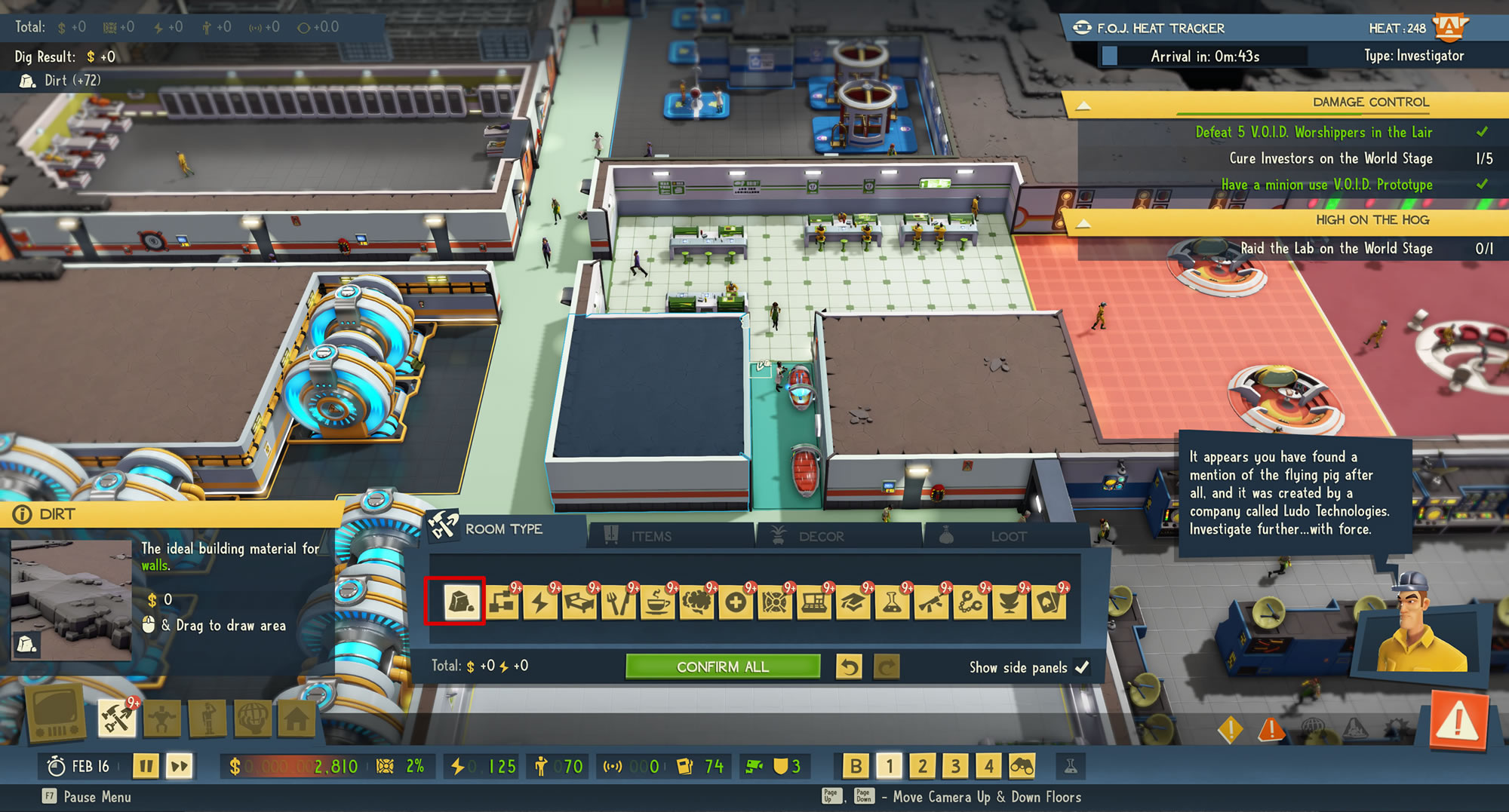 How to Destroy a Room in Evil Genius 2